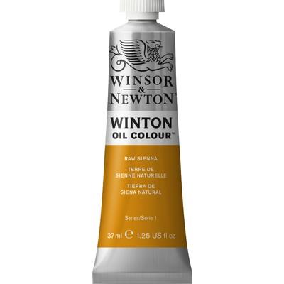Winton Oil Colour 37ml Tube, Raw Sienna