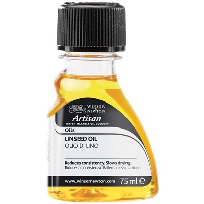 Artisan Water Mixable Linseed Oil (75ml)