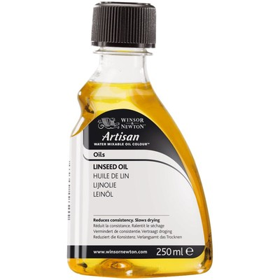 Artisan Water Mixable Linseed Oil (250ml)