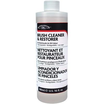 Brush Cleaner & Restorer, 16 oz.