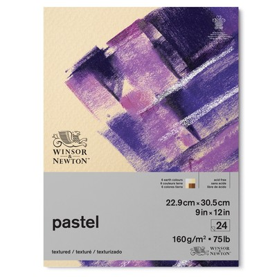 """Pastel Paper Pad, 160gsm Earth Colours - 9"""" x 12"""""""