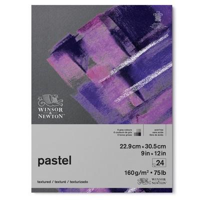 "Pastel Paper Pad, 160gsm Grey Colours - 9"" x 12"""