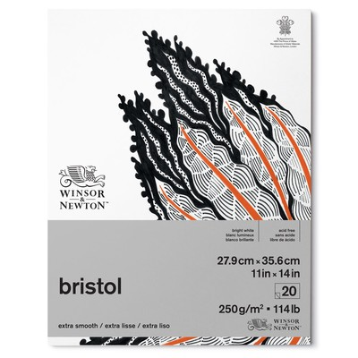 "Bristol Paper Pad, 250gsm - 11"" x 14"""