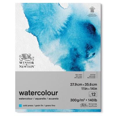 "Watercolour Paper Pad, 140lb Cold Press - 11"" x 14"""