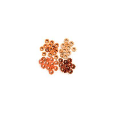 Eyelet & Washer, Crop-A-Dile - Standard - Orange (60pc)