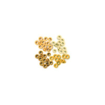 Eyelet & Washer, Crop-A-Dile - Standard - Yellow (60pc)