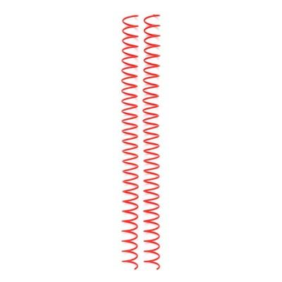 Cinch Spiral Wires, Red (4 Piece)