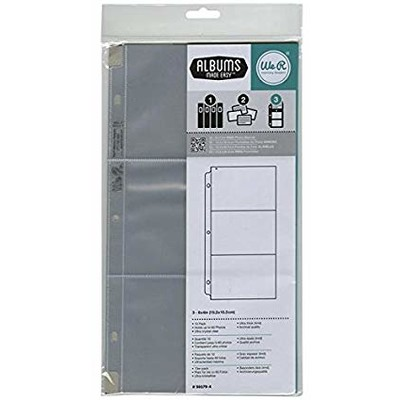 6X12 Page Protectors, 10 Pack