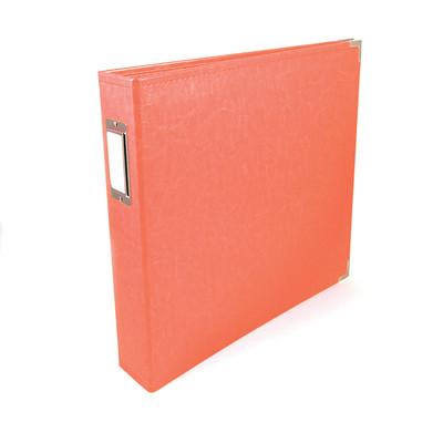 12X12 Classic Album, Ring - Coral
