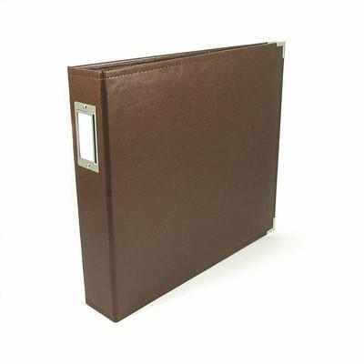 12X12 Classic Album, Ring - Dark Chocolate