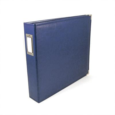 12X12 Classic Album, Ring - Cobalt
