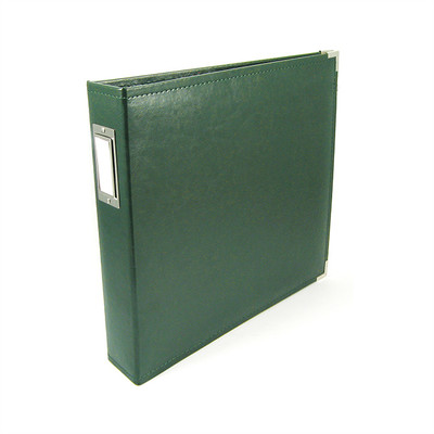 12X12 Classic Album, Ring - Forest Green
