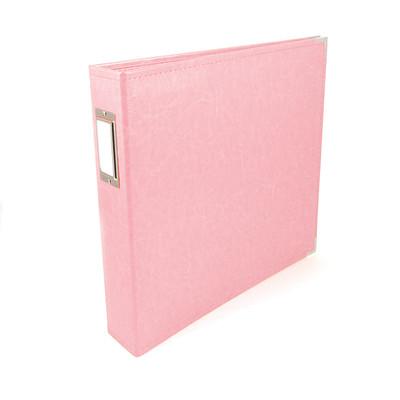 12X12 Classic Album, Ring - Pretty Pink