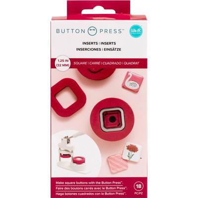 Button Press Insert, Square