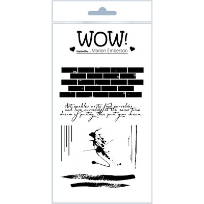 Clear Stamp, Wall Art Stamp