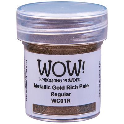 Metallic Embossing Powder, Regular - Gold Rich Pale
