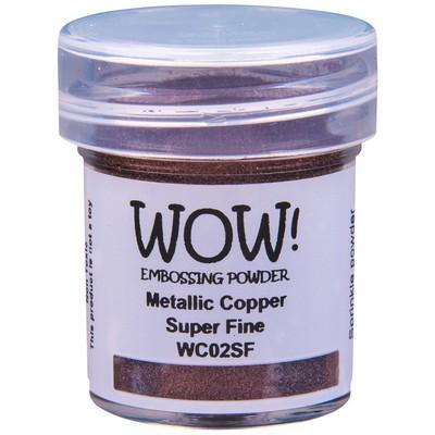Metallic Embossing Powder, Super Fine - Copper