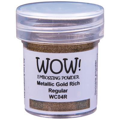 Metallic Embossing Powder, Regular - Gold Rich