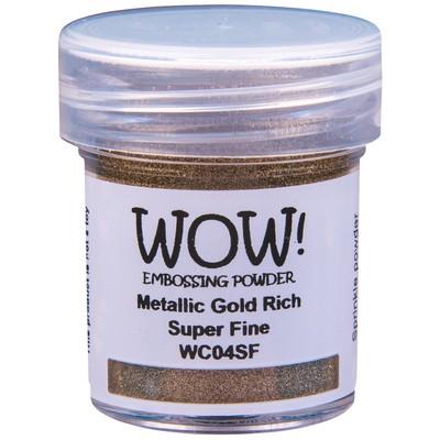 Metallic Embossing Powder, Super Fine - Gold Rich