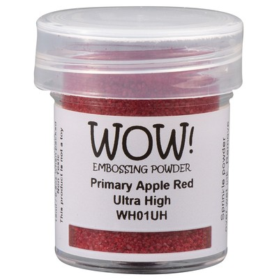 Primary Embossing Powder, Ultra High - Apple Red