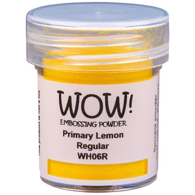 Primary Embossing Powder, Regular - Lemon