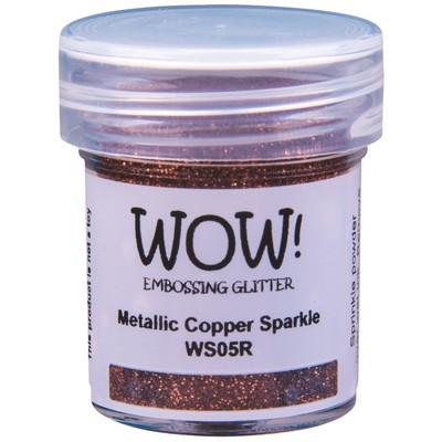 Embossing Glitter, Regular - Metallic Copper Sparkle