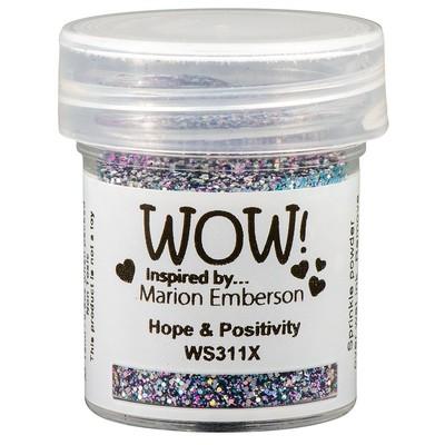 Embossing Glitter, X - Hope & Positivity