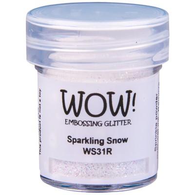 Embossing Glitter, Regular - Sparkling Snow
