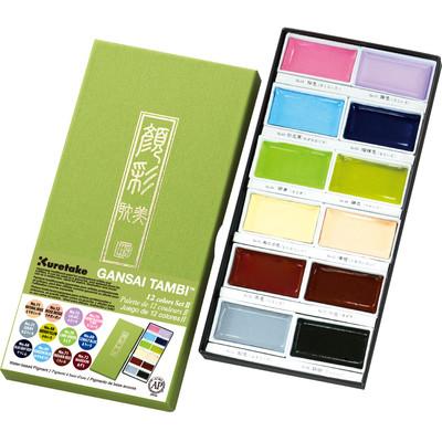 Gansai Tambi Set, 12 Color II