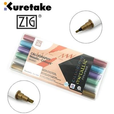 Zig Memory System Display Set, Calligraphy - Metallic (72pc)