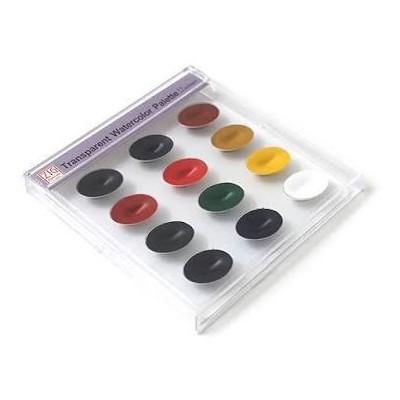 Zig Watercolor System, Transparent Palette (12 Colors)